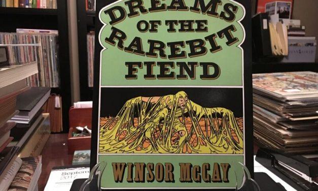 Antique Book Report:  Dreams of the Rarebit Fiend, by Winsor McCay (1905)