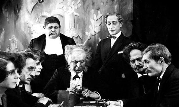 1922.  Dr. Mabuse, the Gambler.  Directed by Fritz Lang.