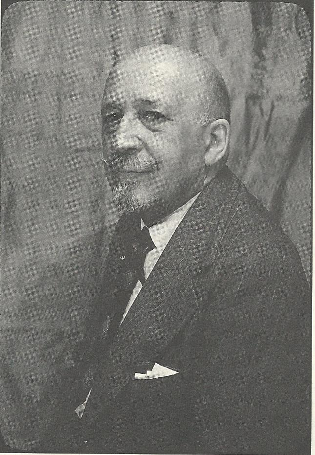 """W.E.B. DuBois, the leading African-American intellectual of his time, from Molesworth's new biography of Countee Cullen. Both Countee Cullen and Langston Hughes were championed by DuBois, who was an influence to both poets. DuBois' famous book, The Souls of Black Folk, appeared in 1903. DuBois published Hughes' first nationally published, and most signature, poem """"The Negro Speaks of Rivers"""" in his journal The Crisis, in 1921. And DuBois was, for a time, Cullen's father-in-law. This photo is by Carl Van Vechten, white chronicler and patron (and contributor) to the Harlem Renaissance, who will be the subject of a future blog on white contributions to the Harlem Renaissance."""