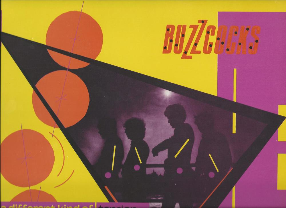 As long as there are physical copies of music, there will be unique collectors' items. We have a smattering of such things in the Dalenberg Library. One of my favorite is this French import blue vinyl pressing of The Buzzcocks' 1979 album A Different Kind of Tension.