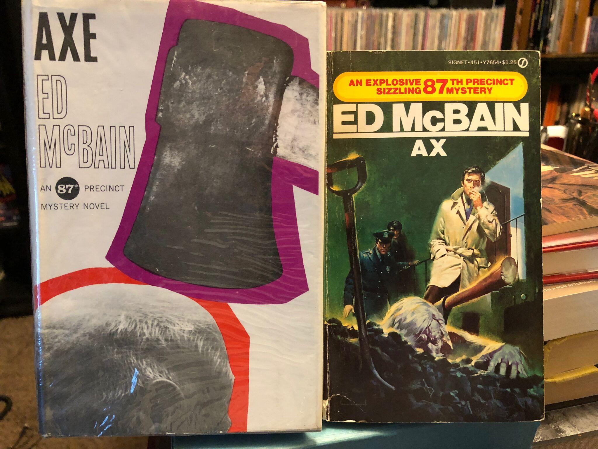 Axe, by Ed McBain (1964)