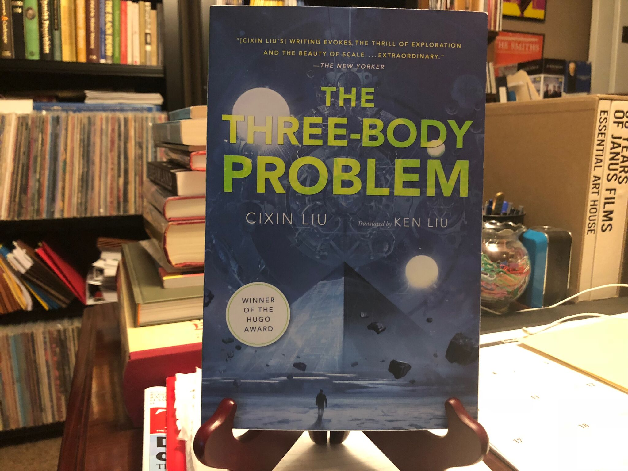 The Three-Body Problem, by Cixin Liu