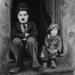 """1921.  """"The Kid."""" Directed by Charlie Chaplin."""