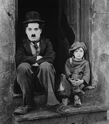"1921.  ""The Kid."" Directed by Charlie Chaplin."