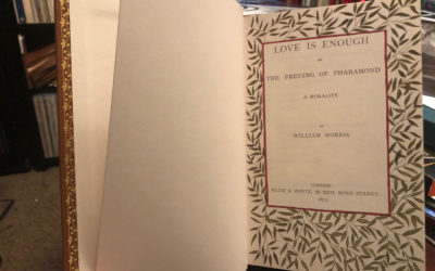 Love is Enough, by William Morris (1873)